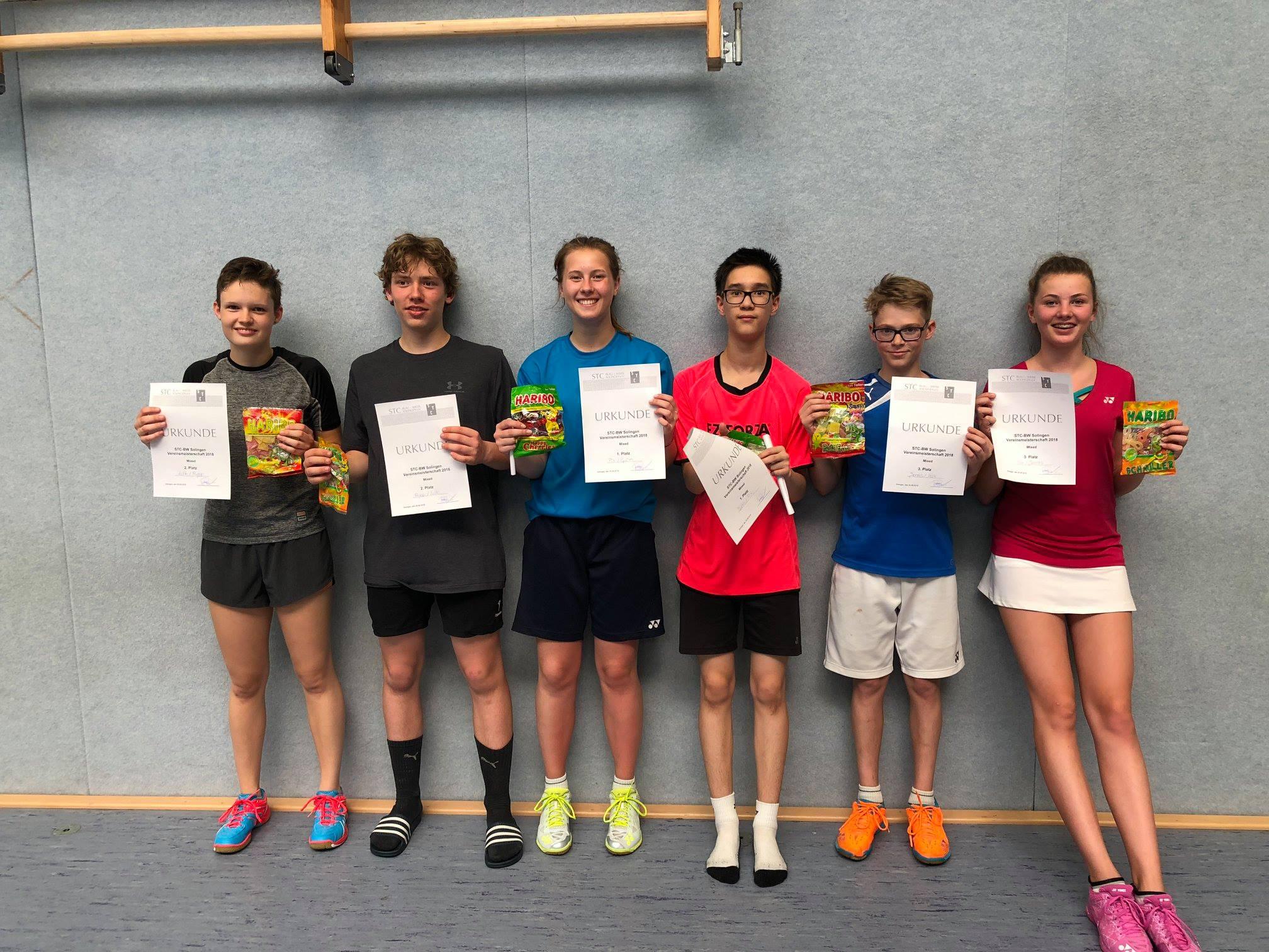 1. Platz Pia Reinkens Björn Braach 2. Platz Isabelle Kluk Jonas Düdden 3. Lotte Thomas Ringo Munsch