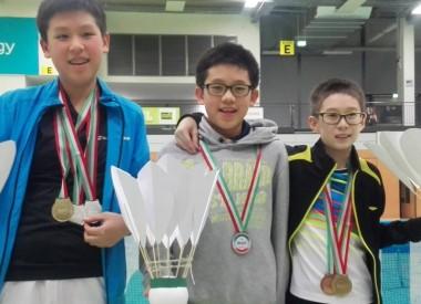 STC Kids mit den Medaillen